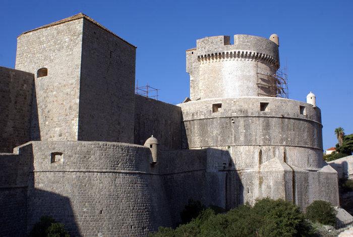 Башни и стены Дубровника