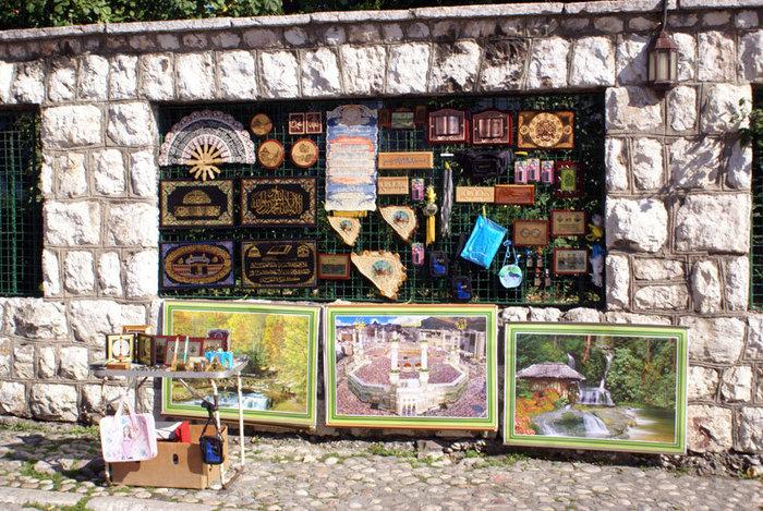 Сувенирный киоск в Сараево