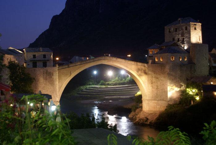 Знаменитый мост в Мостаре