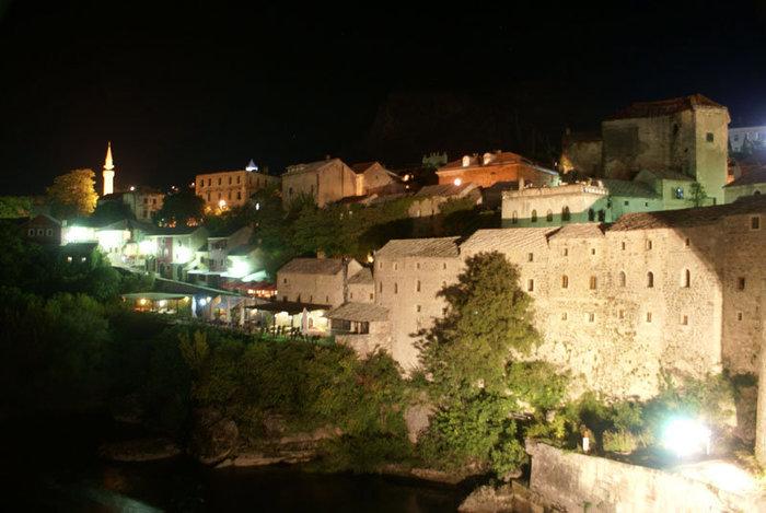 Ночь в Мостаре