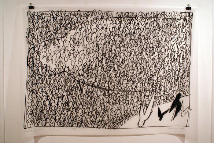 На выставке современного искусства в Сплите