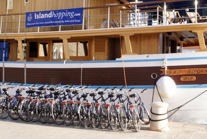 Плавай и катайся — комбинированный яхто-велосипедный маршрут для туристов