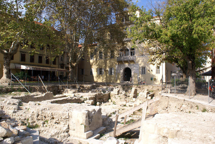 Руины в Задаре