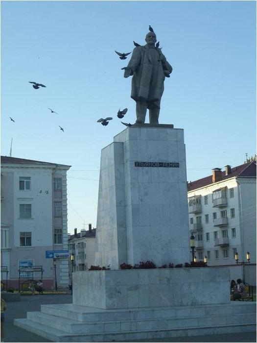 Ленин и голуби