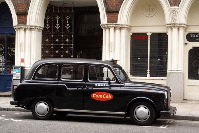 Традиционное лондонское такси
