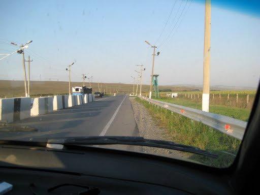 Пост на въезде в Ингушетию