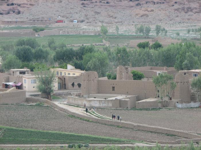 Бамиан-панорама.