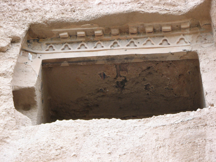 Балкон из пещеры.
