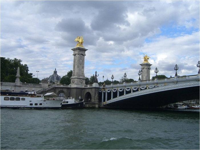 Мост в честь российского императора