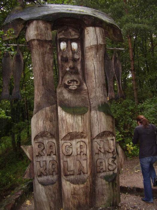 Рагану калнас- гора ведьм.