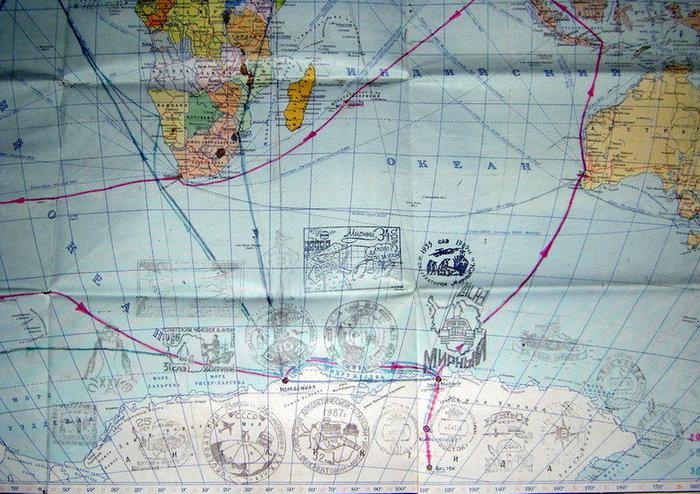 Антарктические маршруты Владимира Соколова