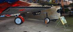 АНТ-2, созданный еще аж в 1924 году. Это был первый в нашей стране цельнометаллический самолет с кабиной пилота и двумя пассажирскими креслами.