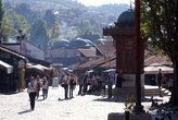 Площадь с фонтаном Башчаршия