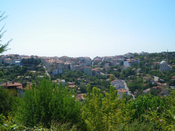 Смотровая площадка на холме Йедитепе