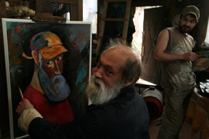 последняя фотография художника