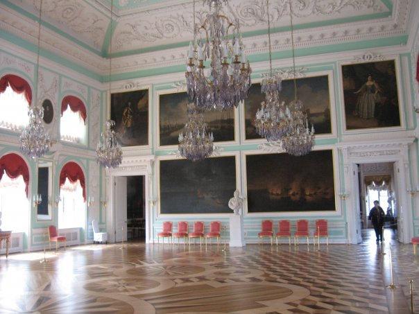 Парадные залы дворца