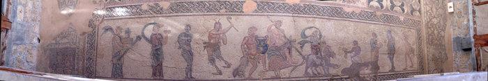 мозаики виллы Диониса
