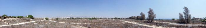 классический пейзаж равнинного Кипра