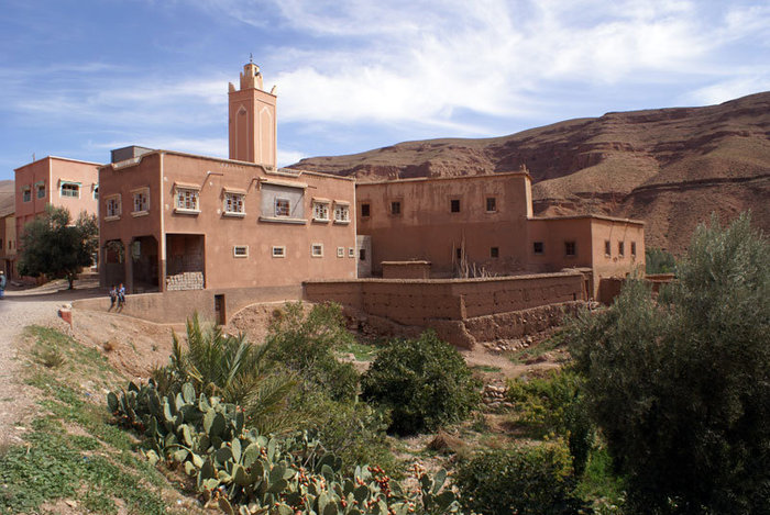 Каньон возле Бульмана (Бульман, Марокко)