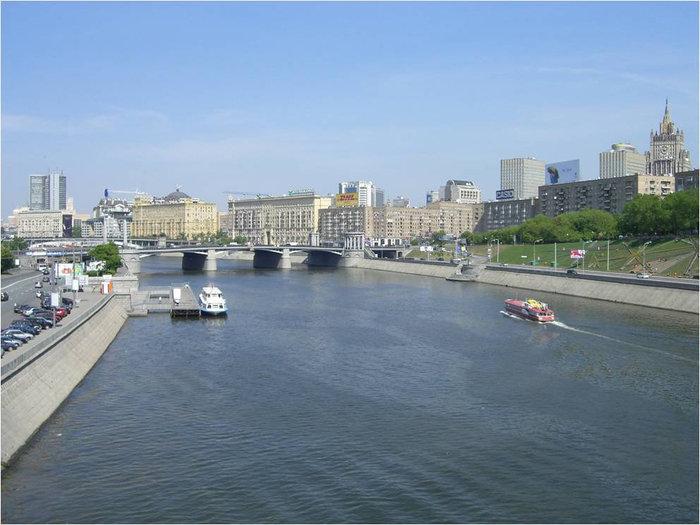 Вид на Бородинский мост