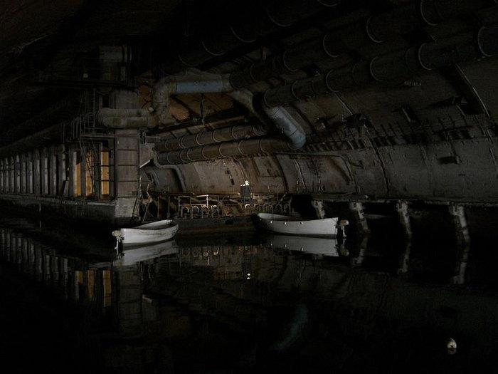 Самый широкий коридор на базе подводных лодок (20 м)