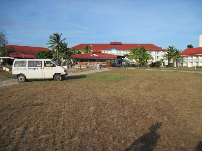 Гостиница, в которой живут русские Синнамари, Французская Гвиана