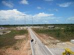 Это вид сверху МИКа. Монтажно-испытательного корпуса (там ракетоноситель Союз — будет собираться).