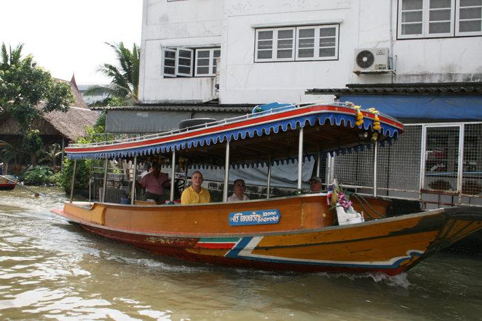 прогулка по рекам и каналам Бангкока