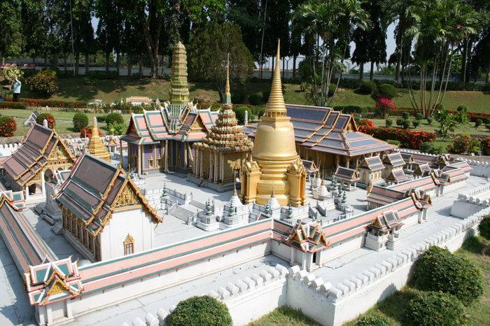 Королевский храмовый комплекс в миниатюре