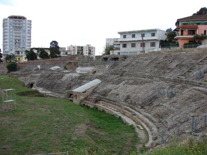Амфитеатр в Дуррисе