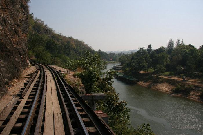 Дорога смерти Канчанабури, Таиланд