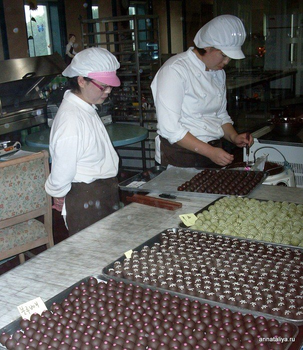 Процесс изготовления конфет ручной работы