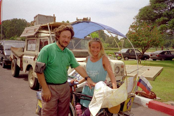 Британская путешественница Фиона Кэмпбэл. Она пересекала все континенты пешком. О ней написал отдельную заметку.