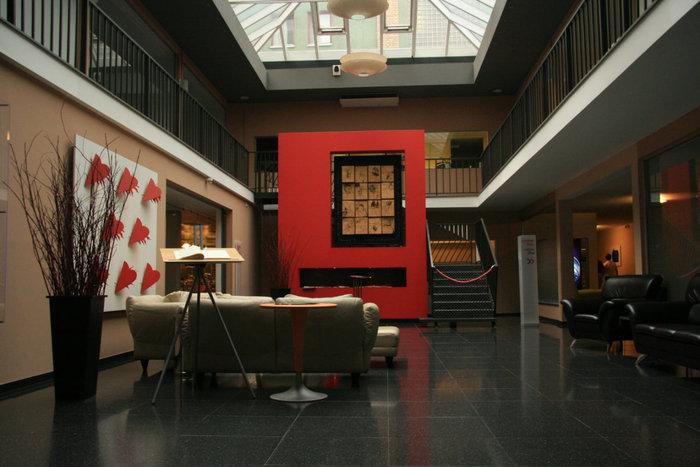 холл отеля Austrotel Viennart