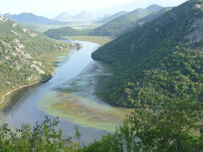 Скадарское озеро, река Црноевич
