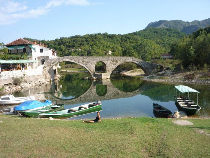 Старый мост со стороны древнего Жабляка