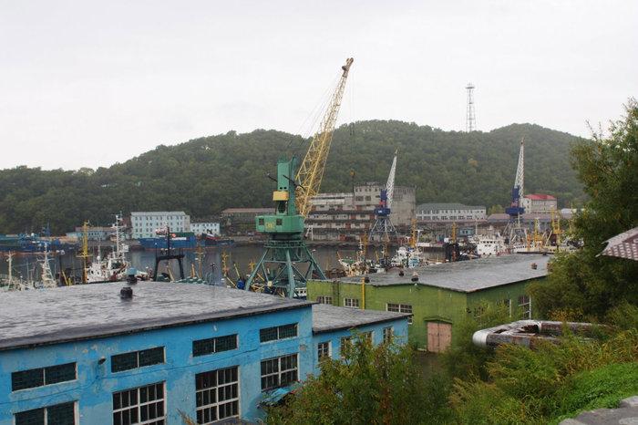 портовые строения