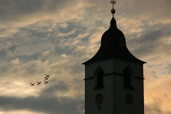 аэрошоу в Санкт-Вольфганге