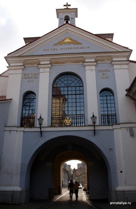 Городские ворота Остра Брама