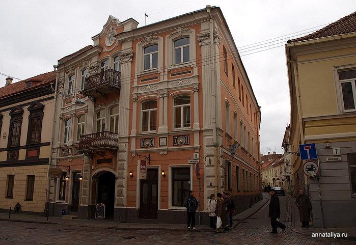 Старые вильнюсские улицы