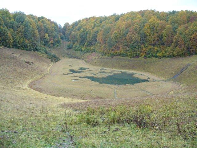 первое озеро Хмелевского