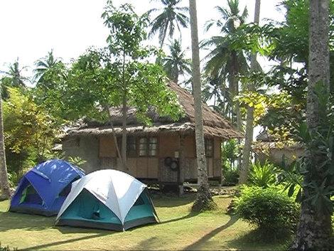 Палатки для тех, кому не досталось бунгало