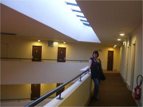Отель треугольной формы