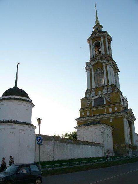 11. Преподобенская колокольня  Ризоположенского женского монастыря