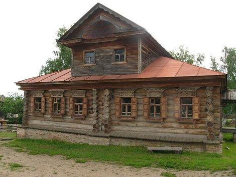 46. Музей деревянного зодчества. Крестьянский дом (кажется…)