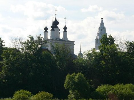 47. Александровский женский монастырь. Вознесенская церковь и колокольня