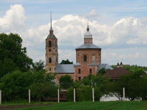 48. Борисоглебская церковь. Построена в 1749г. или в конце XVII века