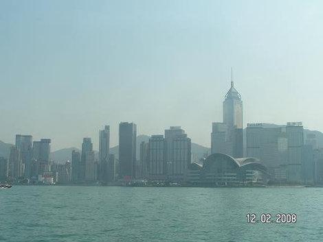 Гонконг: вид с воды