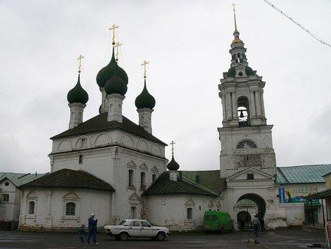 05. Церковь Спаса в рядах и колокольня