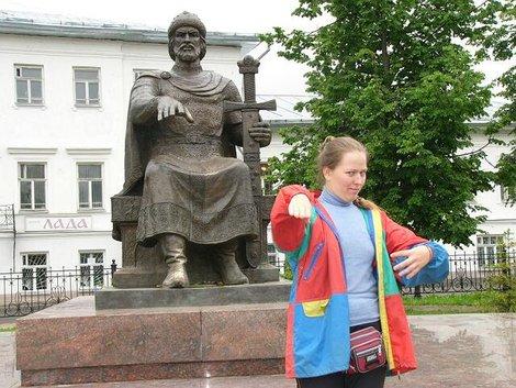 12. Памятник Юрию Долгорукому
